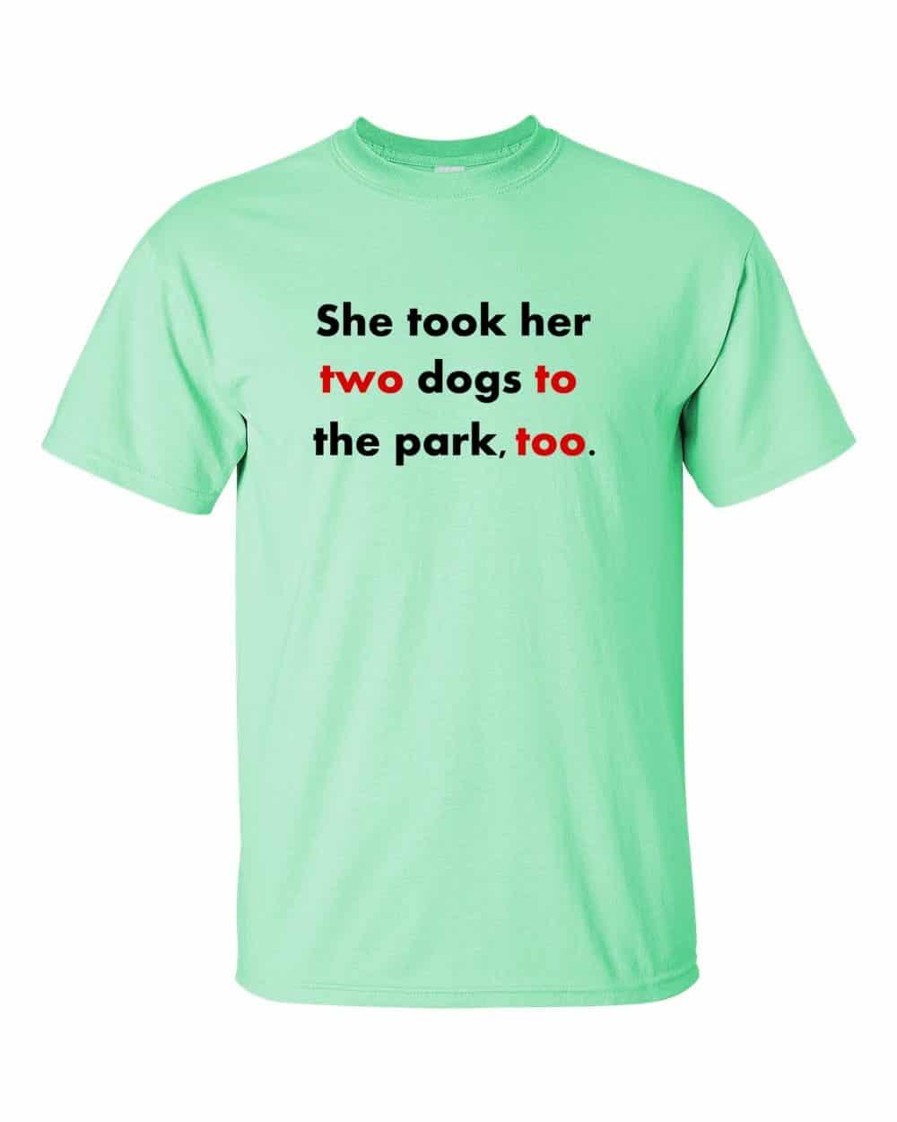 Twototoo t-shirt (mint)