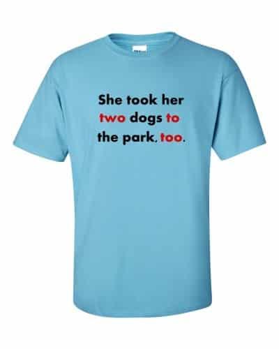Twototoo t-shirt (sky)