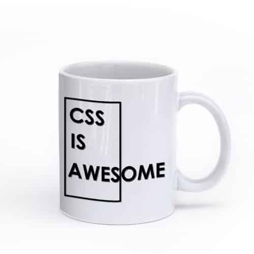 CSS is Awesome mug (11 oz)