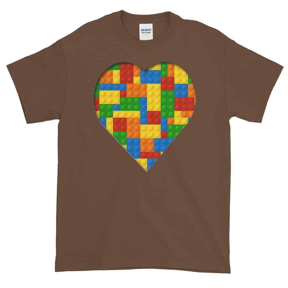 Lego Love T-Shirt (chestnut)