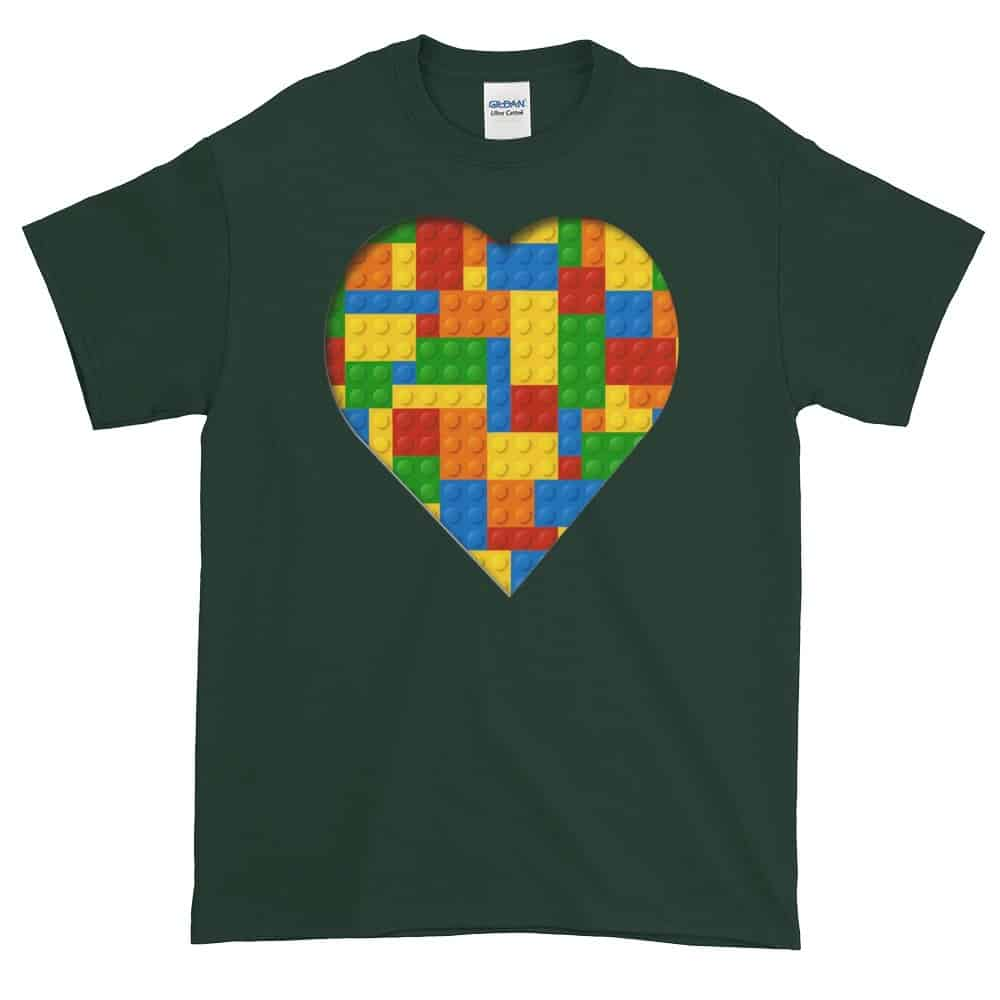 Lego Love T-Shirt (forest)