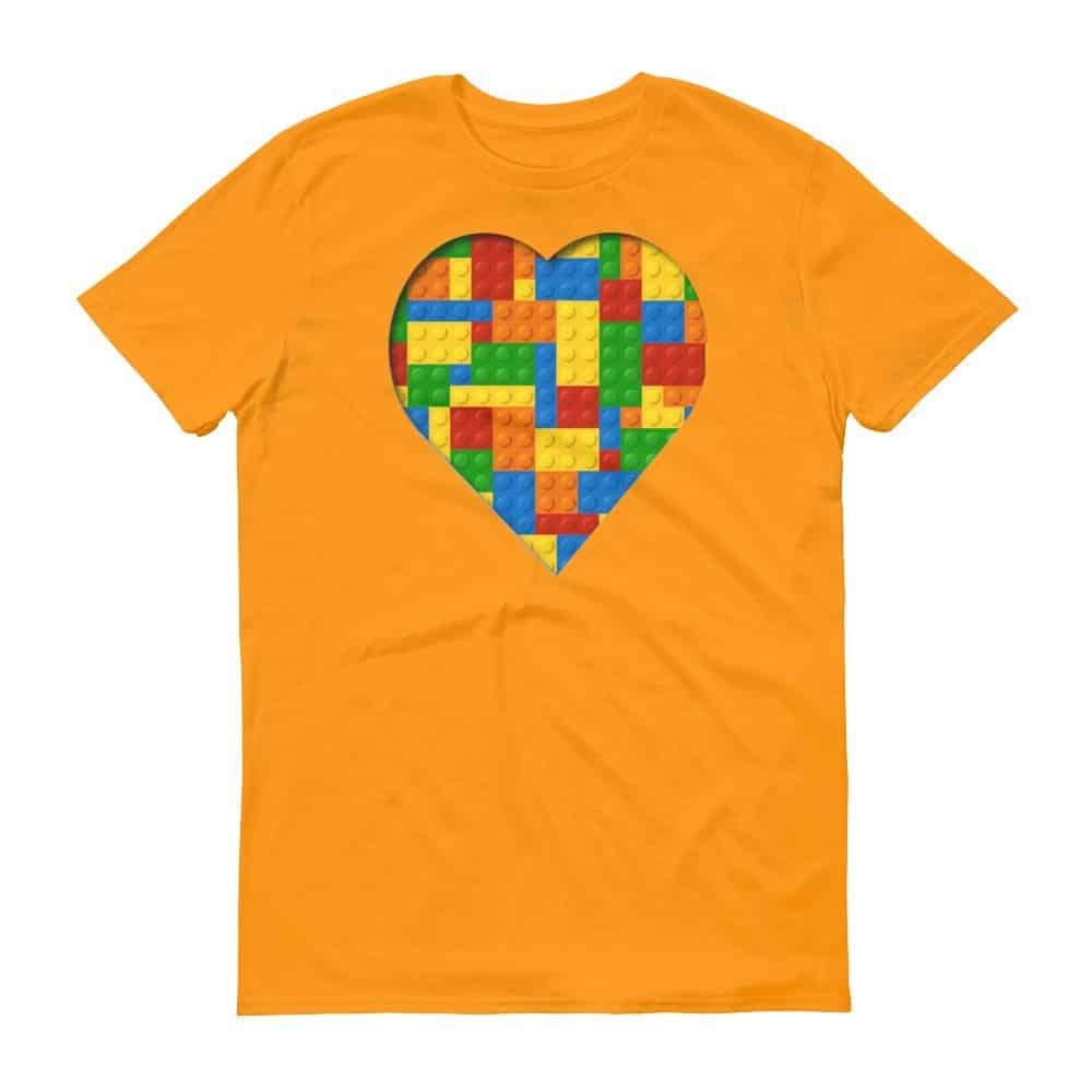 Lego Love T-Shirt (tangerine)