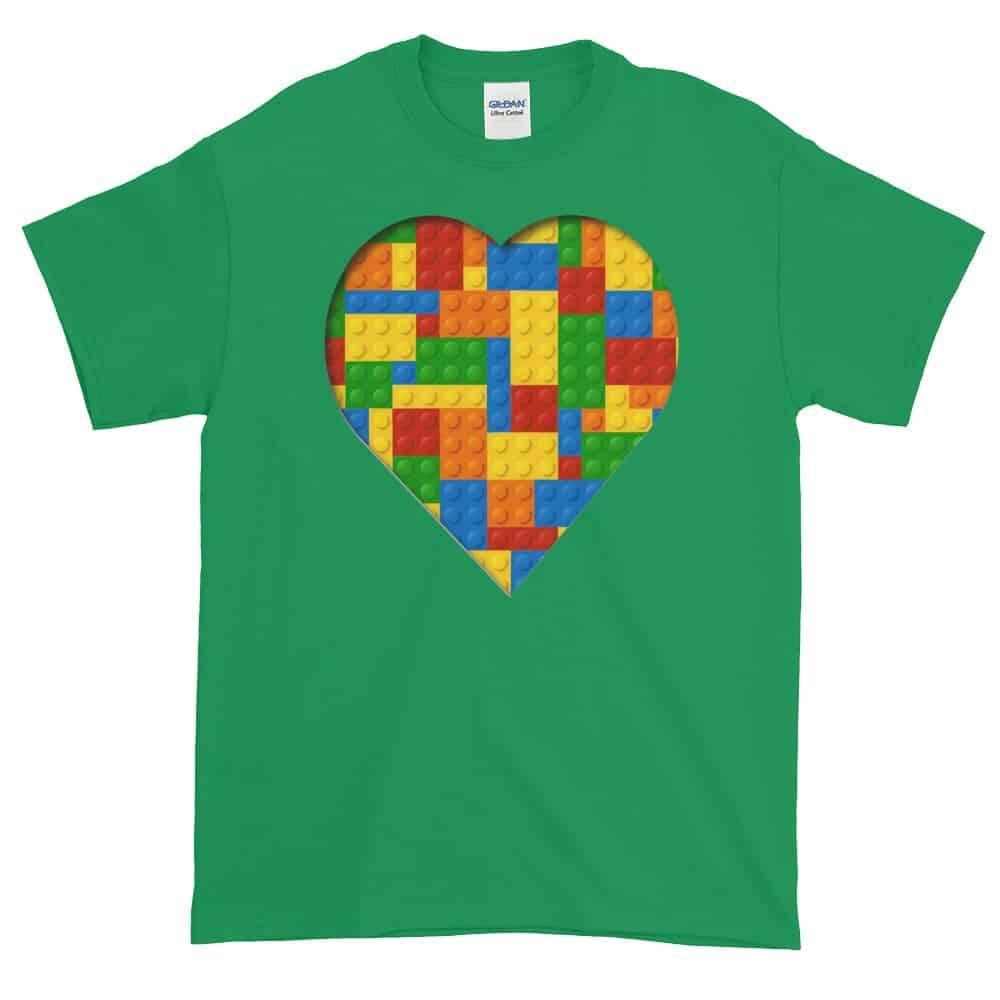 Lego Love T-Shirt (shamrock)