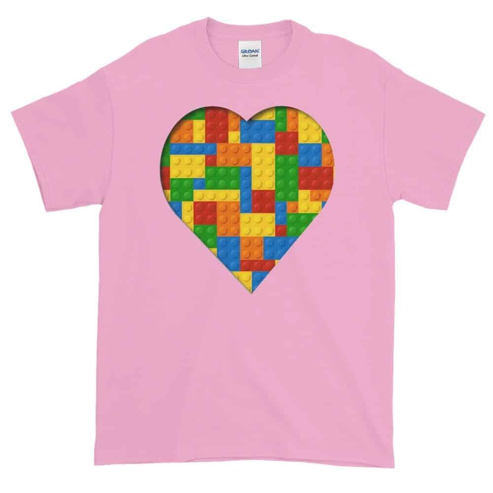 Lego Love T-Shirt (pink)