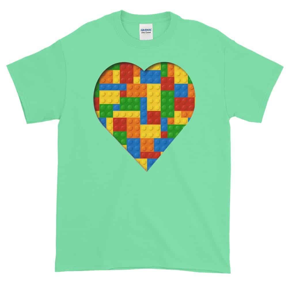 Lego Love T-Shirt (mint)