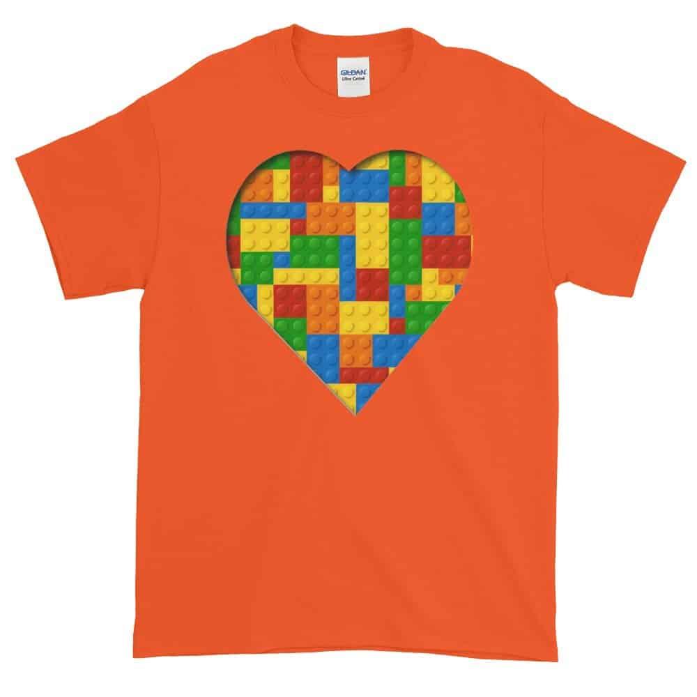 Lego Love T-Shirt (orange)
