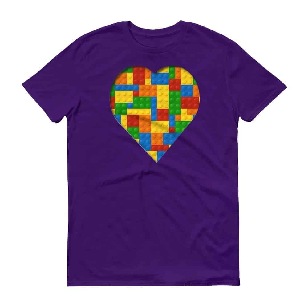 Lego Love T-Shirt (purple)