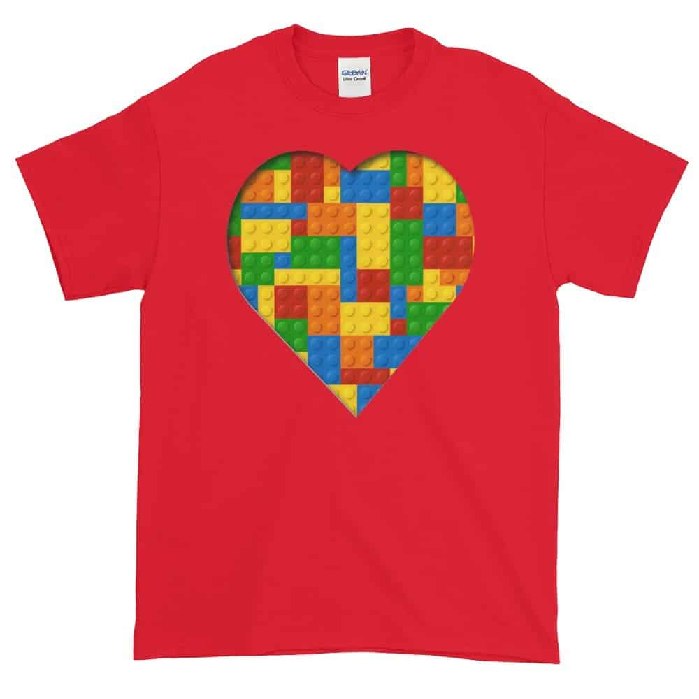 Lego Love T-Shirt (red)