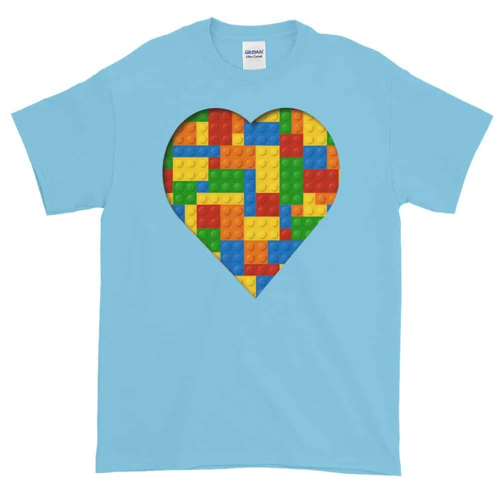 Lego Love T-Shirt (sky)