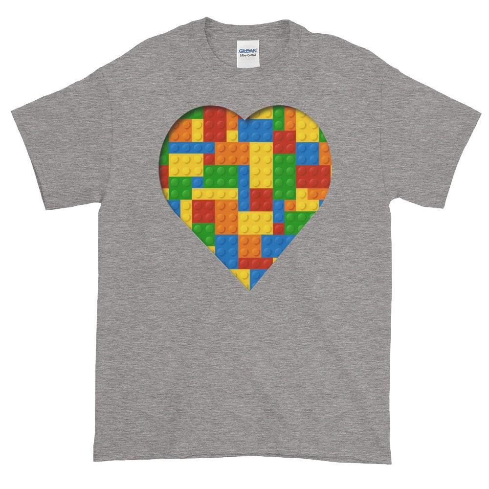 Lego Love T-Shirt (slate)