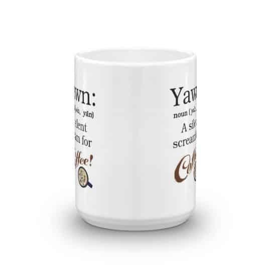 Yawn: A Silent Scream for Coffee