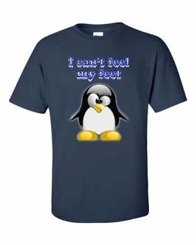 I Can't Feel My Feet T-Shirt (navy)