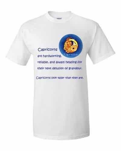Capricorn T-Shirt (white)