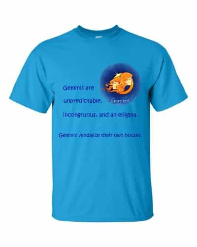 Gemini T-Shirt (sapphire)