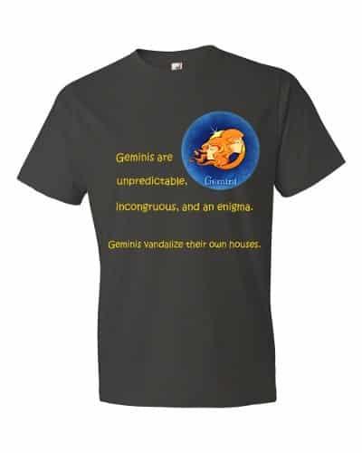 Gemini T-Shirt (smoke)