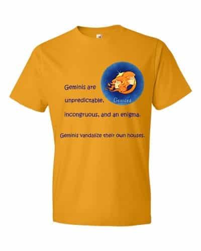 Gemini T-Shirt (tangerine)