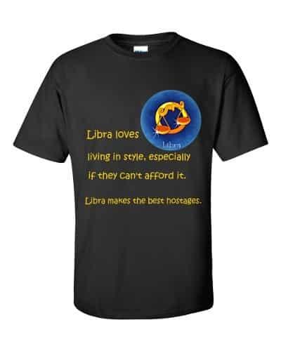 Libra T-Shirt (black)