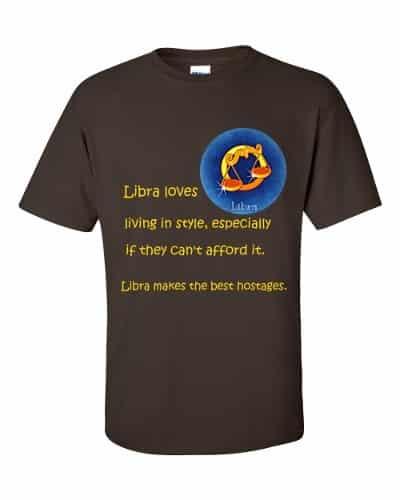 Libra T-Shirt (chocolate)