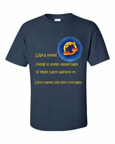 Libra T-Shirt (navy)