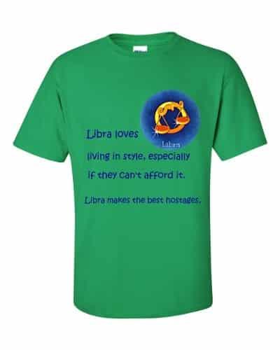 Libra T-Shirt (shamrock)