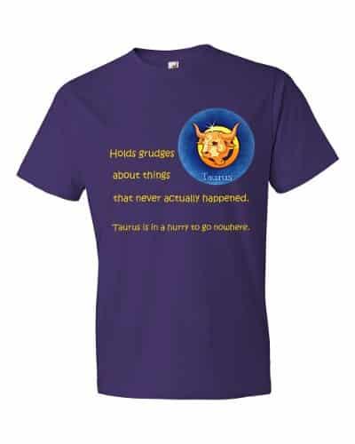 Taurus T-Shirt (purple)