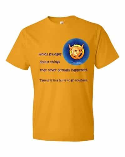 Taurus T-Shirt (tangerine)