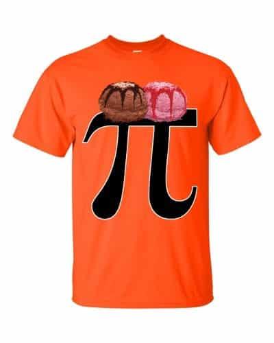 Pi a la Mode T-Shirt (orange)
