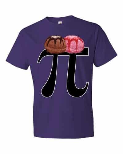 Pi a la Mode T-Shirt (purple)