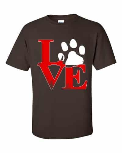 Puppy Love T-Shirt (chocolate)