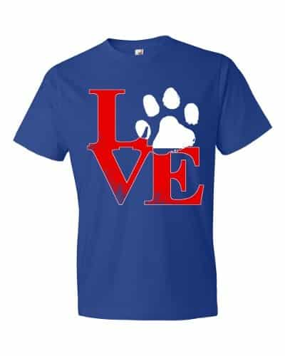 Puppy Love T-Shirt (royal)