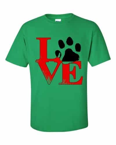 Puppy Love T-Shirt (shamrock)