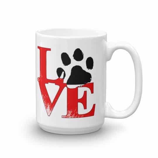 Puppy Love Mug - 15 right