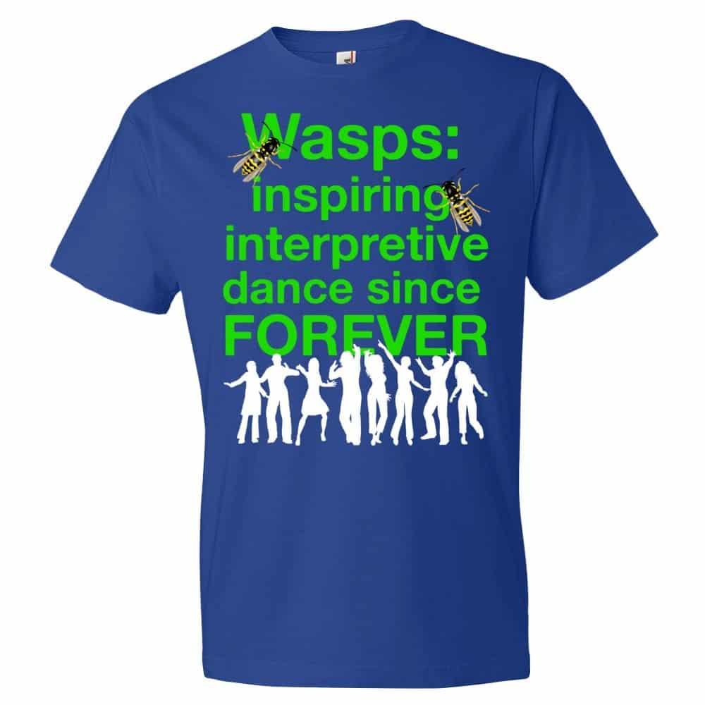 Wasps Inspire Interpretive Dance T-Shirt (royal)