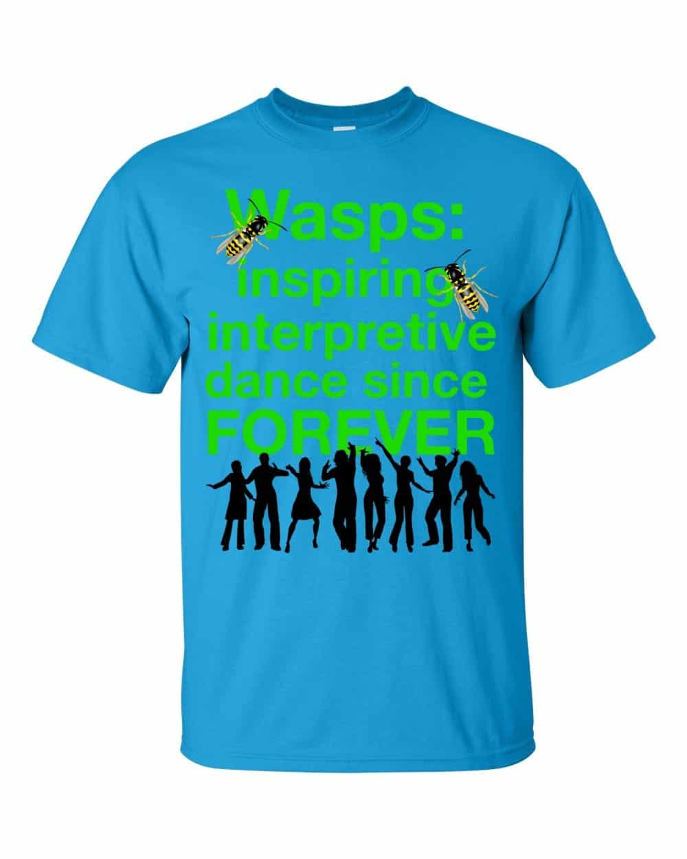 Wasps Inspire Interpretive Dance T-Shirt (sapphire)