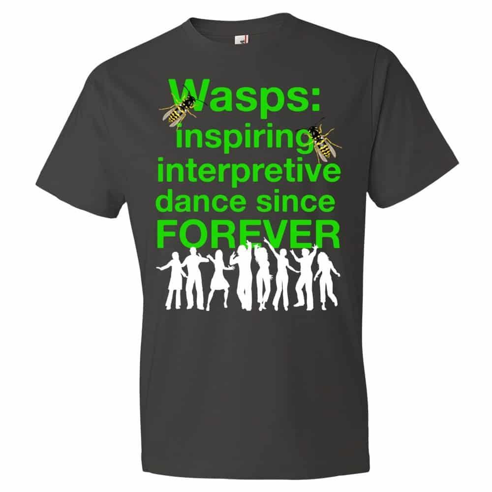 Wasps Inspire Interpretive Dance T-Shirt (smoke)