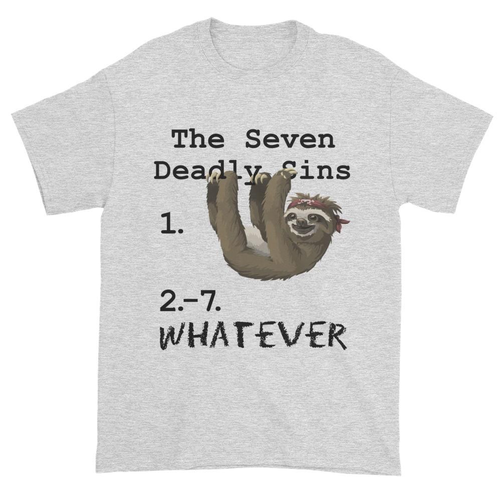 Seven Deadly Sins T-Shirt (ash)