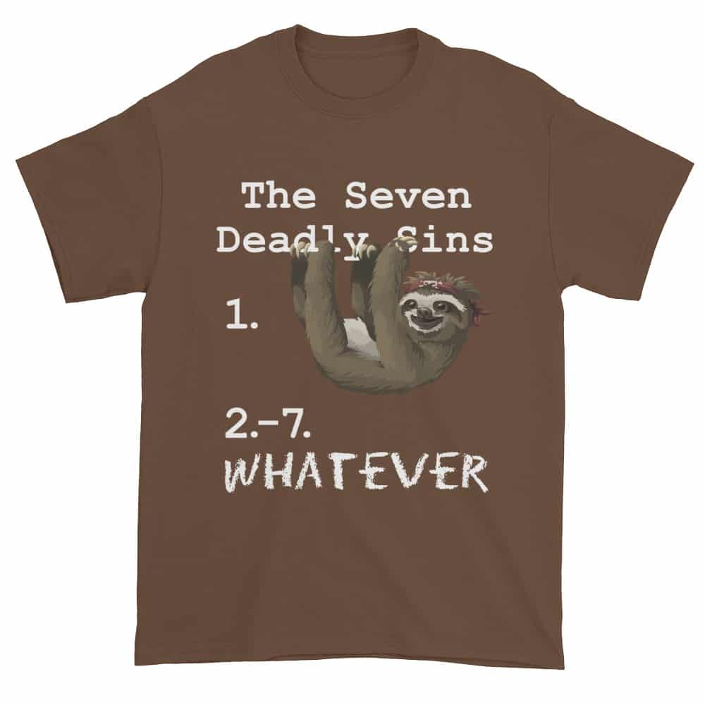 Seven Deadly Sins T-Shirt (chestnut)
