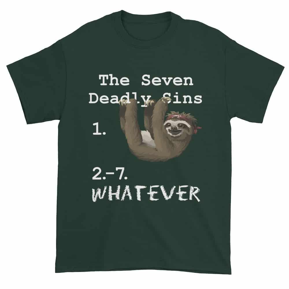 Seven Deadly Sins T-Shirt (forest)