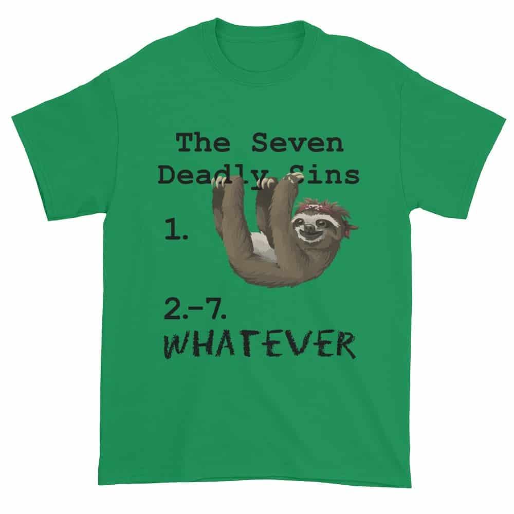 Seven Deadly Sins T-Shirt (shamrock)