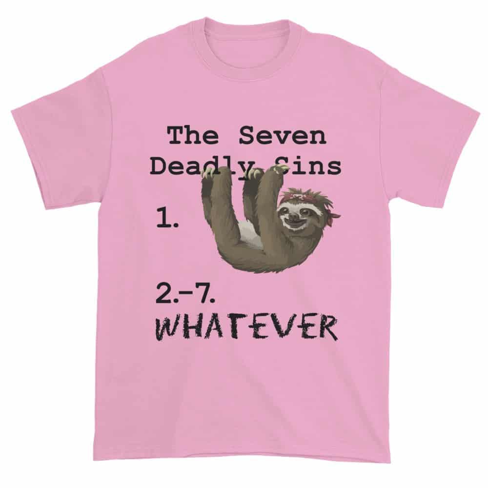 Seven Deadly Sins T-Shirt (pink)