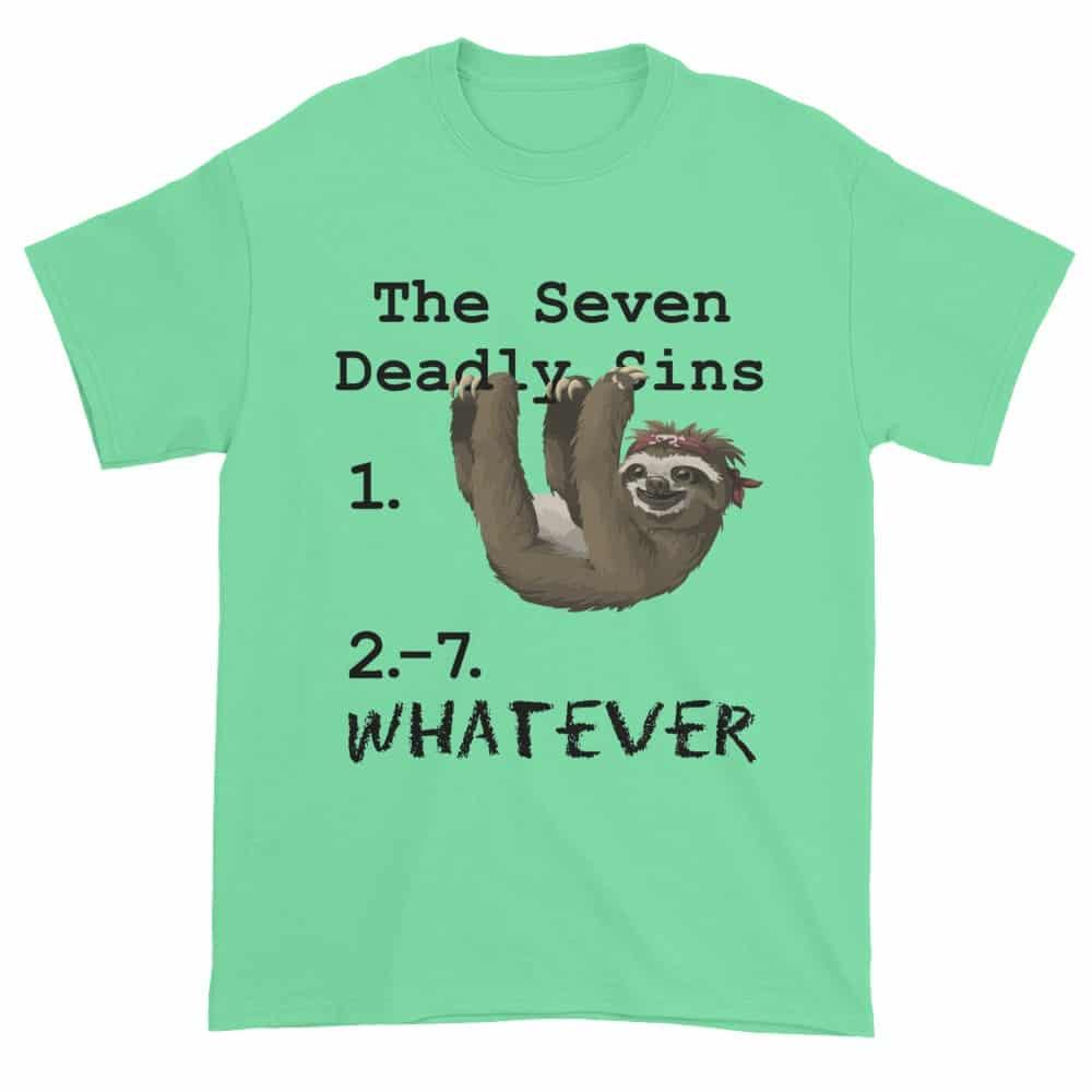 Seven Deadly Sins T-Shirt (mint)