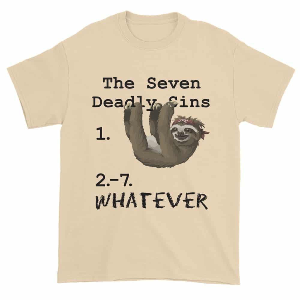 Seven Deadly Sins T-Shirt (natural)