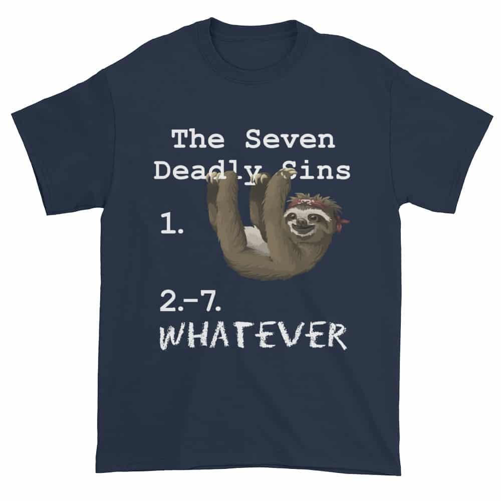 Seven Deadly Sins T-Shirt (navy)