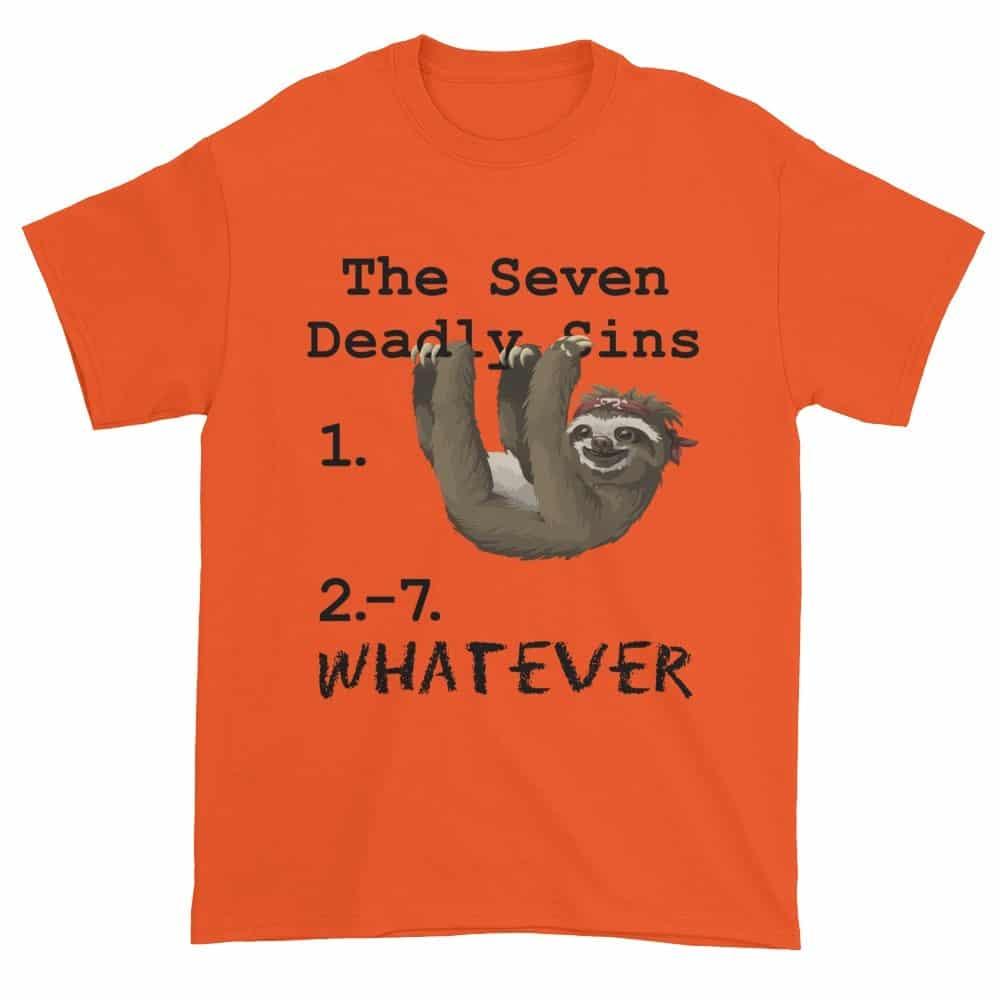 Seven Deadly Sins T-Shirt (orange)