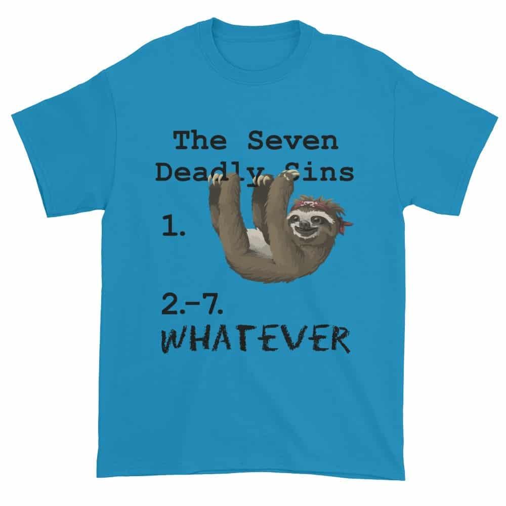 Seven Deadly Sins T-Shirt (sapphire)