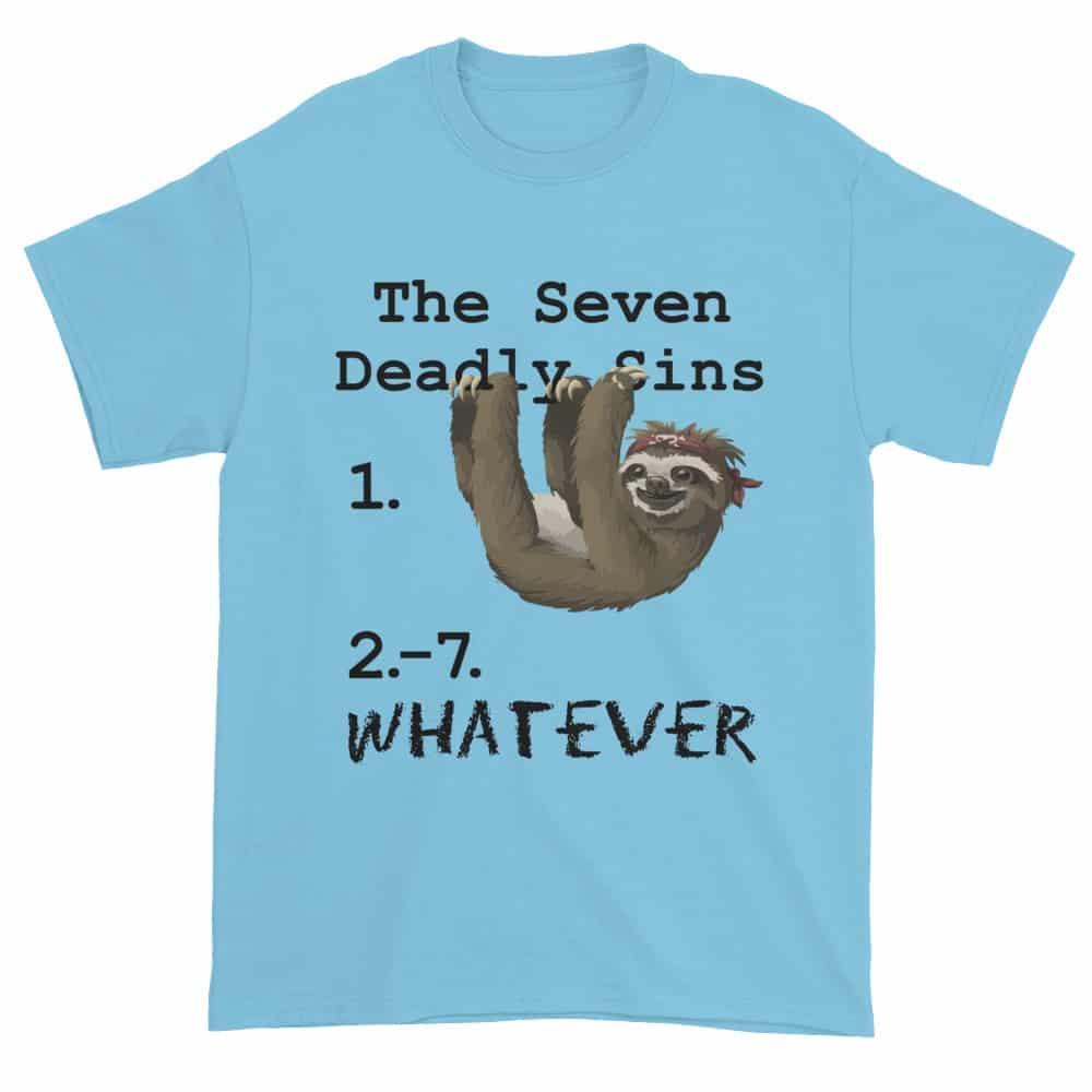 Seven Deadly Sins T-Shirt (sky)