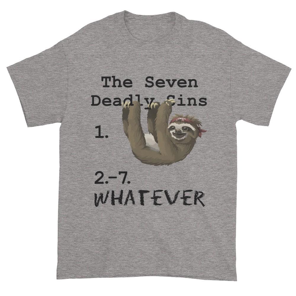 Seven Deadly Sins T-Shirt (slate)