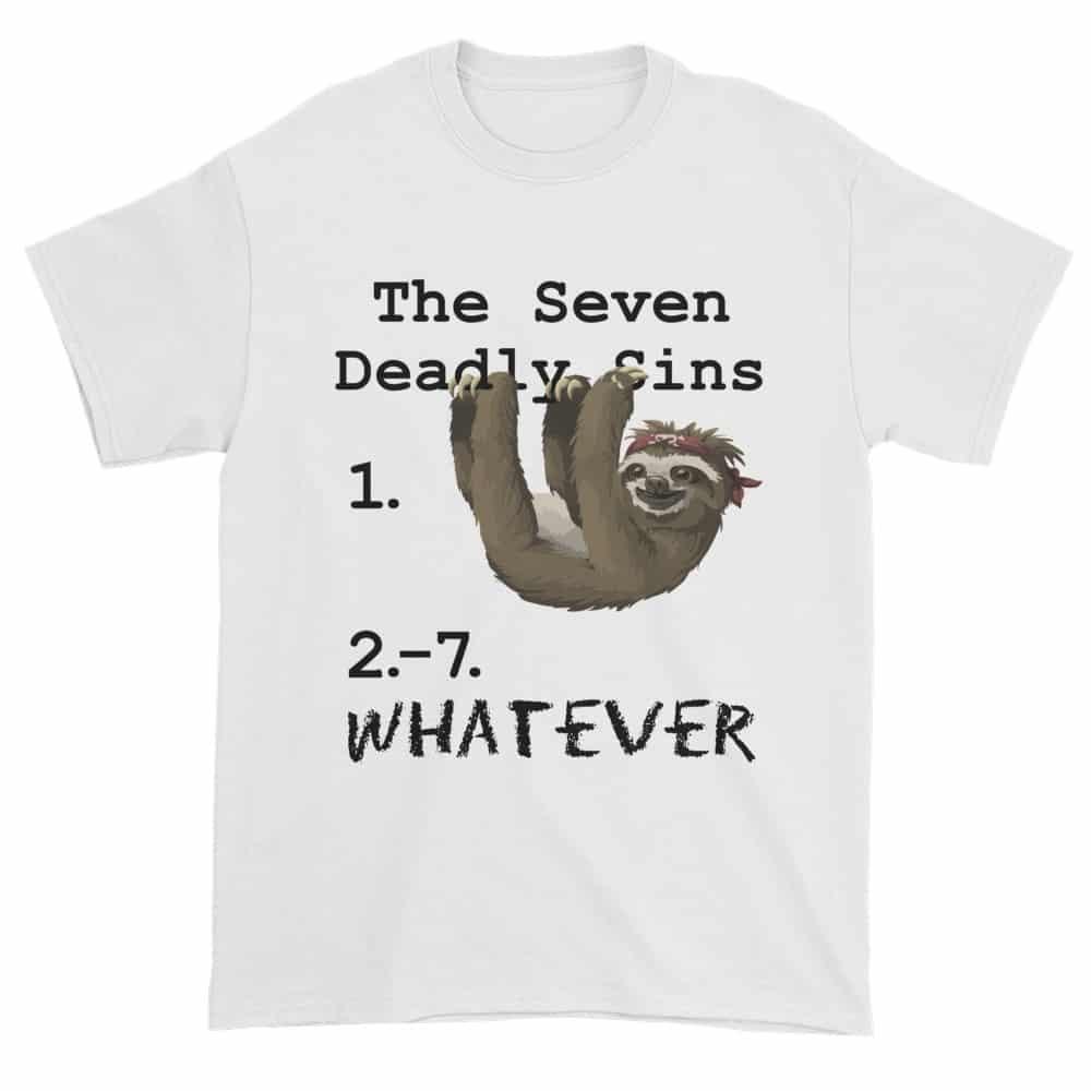 Seven Deadly Sins T-Shirt (white)