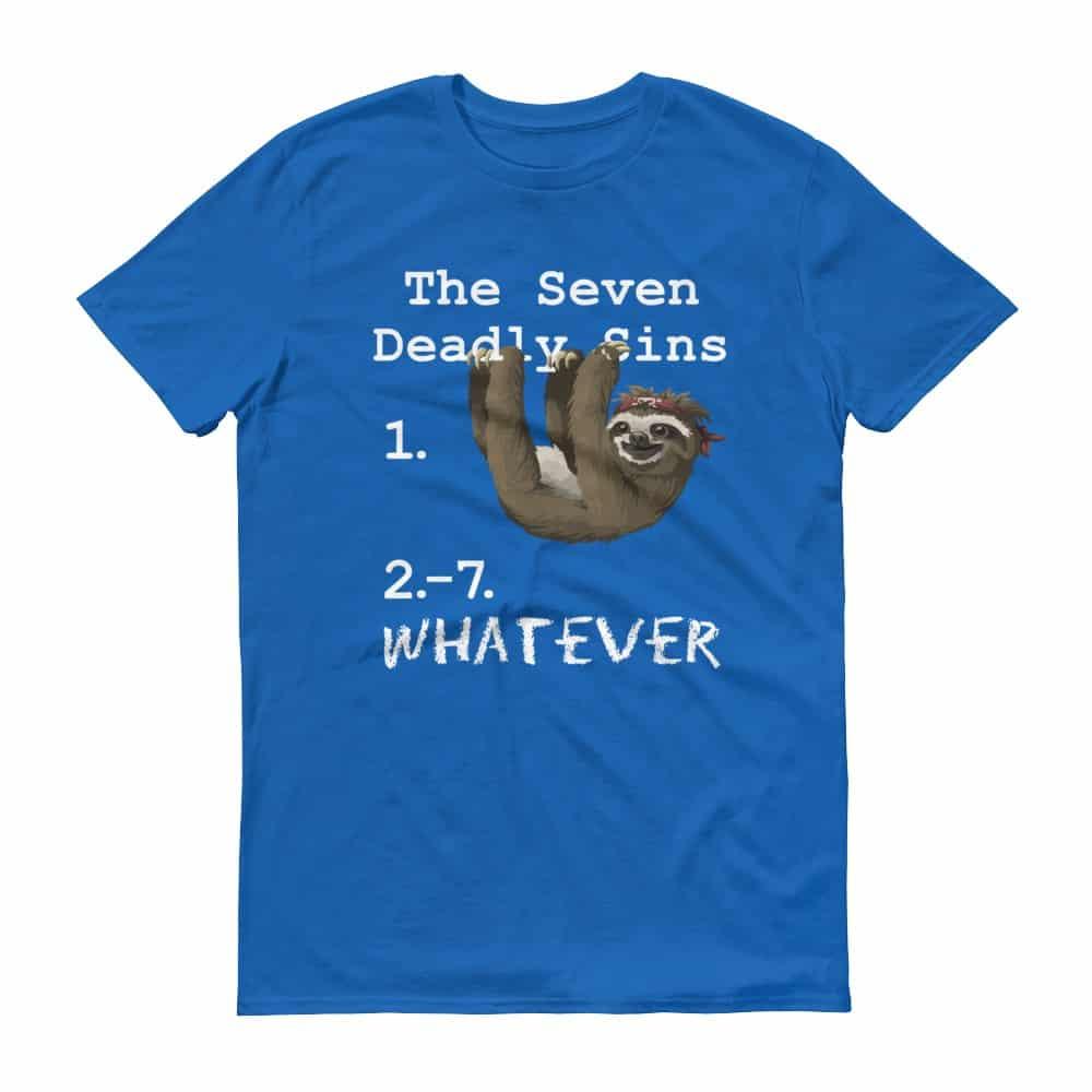 Seven Deadly Sins T-Shirt (royal)