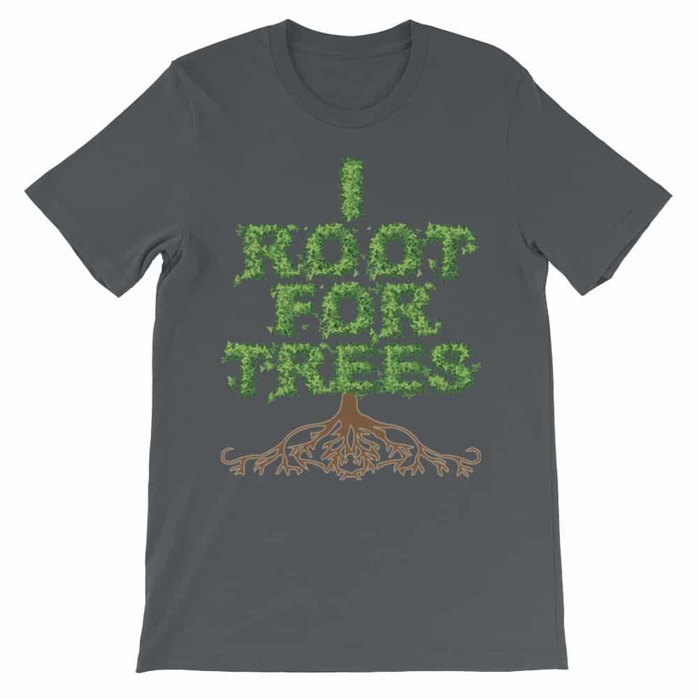 I Root for Trees T-Shirt (smoke)